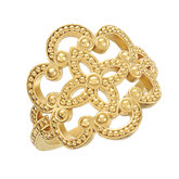 Granulated Design Fashion Ring