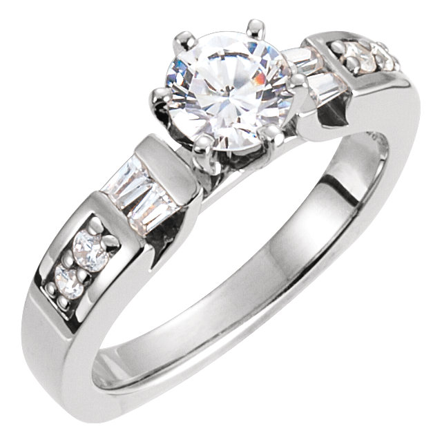 Square band wedding ring for partner