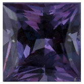 Square Genuine Alexandrite