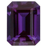 Emerald/Octagon Lab Created Alexandrite