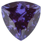 Trillion Chatham Created Alexandrite