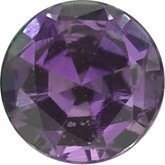 Genuine Alexandrite - Round Faceted; AAA Quality