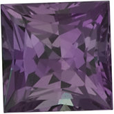 Genuine Alexandrite - Square Princess; AA Quality