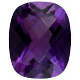Antique Cushion Genuine Amethyst