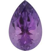 Pear Genuine Amethyst