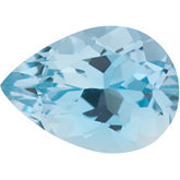 Pear Genuine Aquamarine