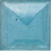 Square Genuine Cabochon Aquamarine