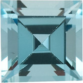 Square Genuine Aquamarine