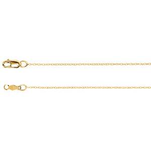Lasered Titan Gold™ Rope Chain .75mm