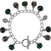 Freshwater Cultured Dyed Pearl Bracelet