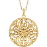 Filigree Necklace or Pendant
