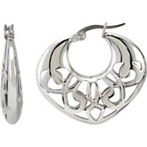 Amalfi™ Stainless Steel Hoop Earrings