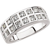 1 1/4 ct tw Diamond Anniversary Band