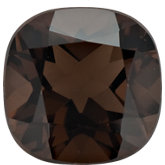 Antique Square Genuine Smoky Quartz