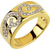1/5 ct tw Diamond Designer Anniversary Band