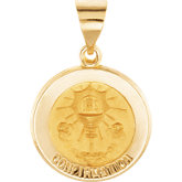 Hollow Round Confirmation Medal