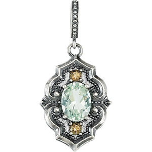 Victorian Style Dangle Pendant