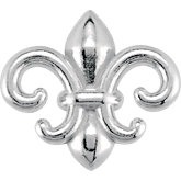 Decorative Fleur-de-Lis Design Trim or Earrings