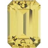 Emerald/Octagon Natural Yellow Sapphire