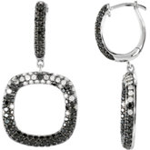 2 1/6 ct tw Black & White Diamond Earrings