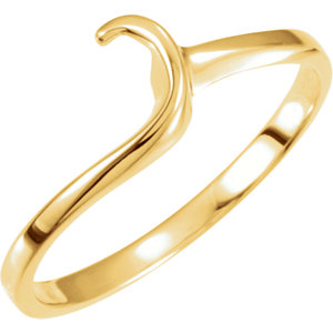 14kt Yellow Band