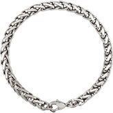 Stainless Steel Wheat Chain or Bracelet