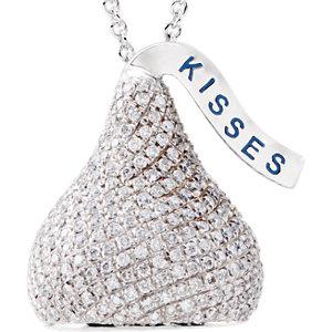 HERSHEY'S KISSES 3D Diamond Necklace