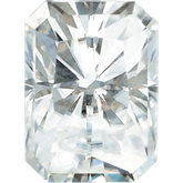 Emerald/Octagon Forever Brilliant Moissanite