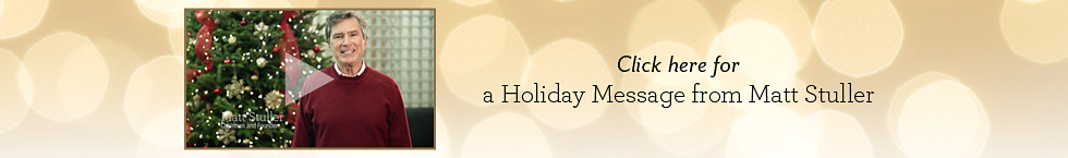 Holiday Message from Matt Stuller