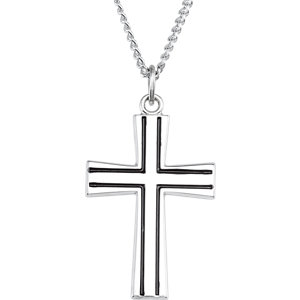 Cross Pendant or Necklace