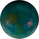 Round Genuine Bloodstone