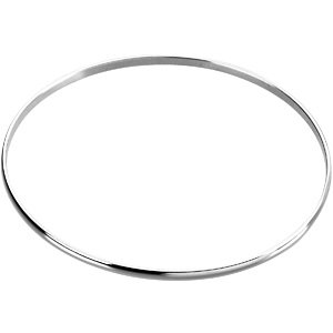 Sterling Silver  .5mm Bangle Bracelet