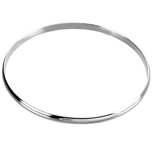 Sterling Silver 4mm Bangle Bracelet