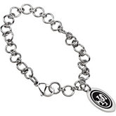 San Francisco 49ers Logo Dangle Bracelet