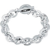 10.23mm Link Bracelet with Toggle Clasp