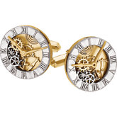 Clock Design Cuff Links