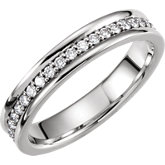 5mm Duo Diamond Band or Mounting
