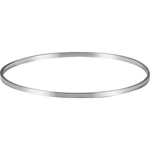 Sterling Silver  . 5mm Bangle Bracelet