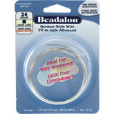 Beadalon® Square NF Silver Plated Wire