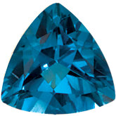 Trillion Imitation Blue Zircon