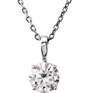 Aharles & Aolvard Moissanite® Moissanite Necklace