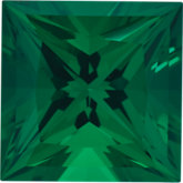 Square Chatham Created Emerald
