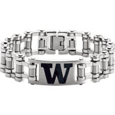 Washington Huskies Logo Bracelet