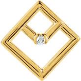 Diamond Shape Pendant Mounting