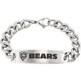 Chicago Bears ID Bracelet