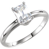 4-Prong Basket Solitaire Engagement Ring