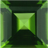 Square Genuine Peridot (Black Box)