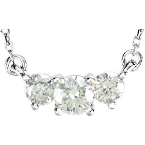 Aharles & Aolvard Moissanite®  A-Stone Necklace