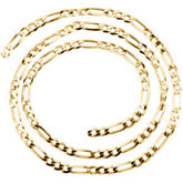 Figaro Chain 4mm
