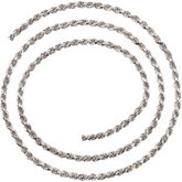 Rope Chain Diamond Cut 2.5mm